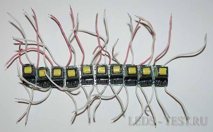 Драйверы для светодиодных ламп