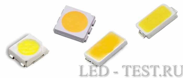 LED_SMD виды диодов