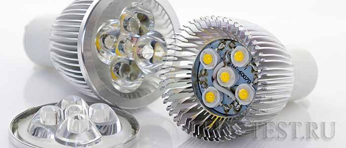 Лампы на мощных диода
