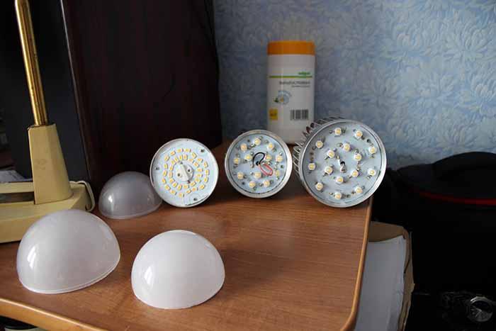 Рассеиватели LEDs lamp