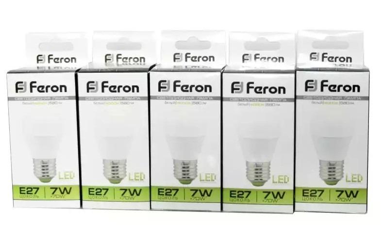 Лучшие Светодиодные лампы Feron