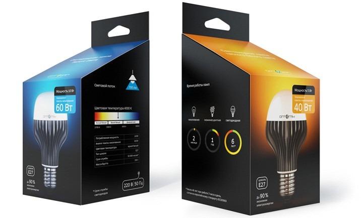 Светодиодные лампы Оптоган