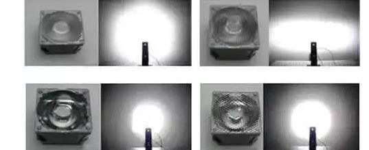 Как светят коллиматорные линзы