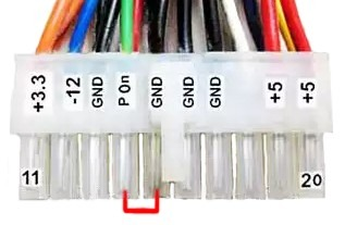 Подключение 24 В ленты к блоку питания от компьютера