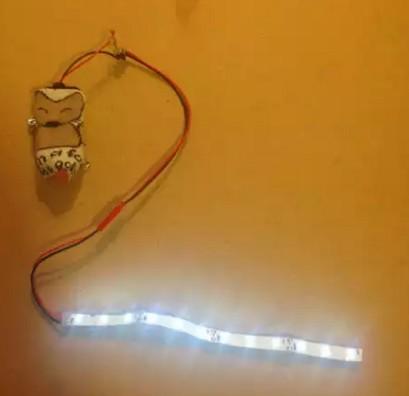 Готовая продукция светодиодной ленты на одежду