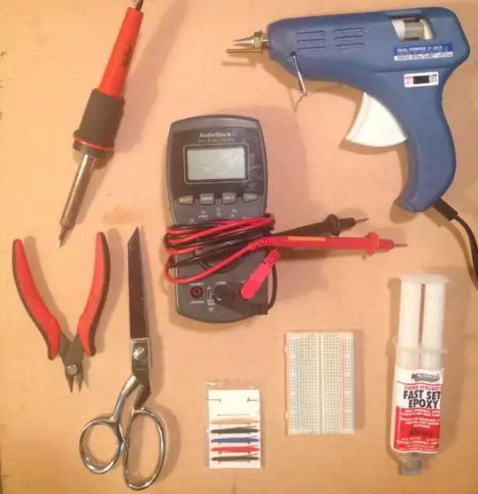 Инструменты под Led ленту на одежду