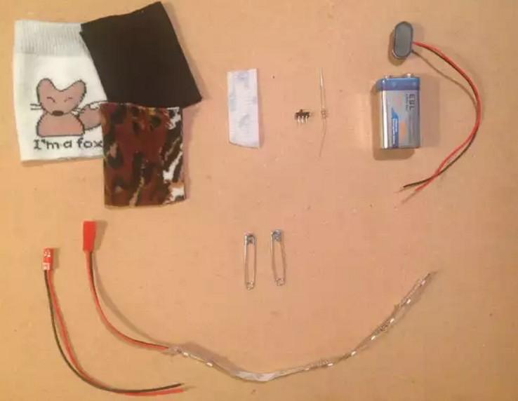 материалы для светодиодной ленты в одежду