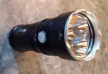 Solarstorm led фонарь