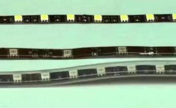 Миниатюра сравнения лент 5050 и 3528