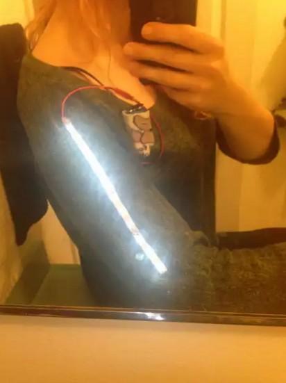 Светодиодная лента в одежду