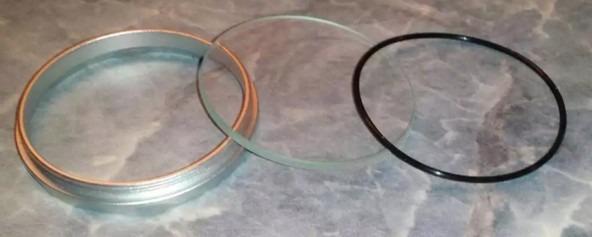 Составные части оптики Solarstorm led фонарика