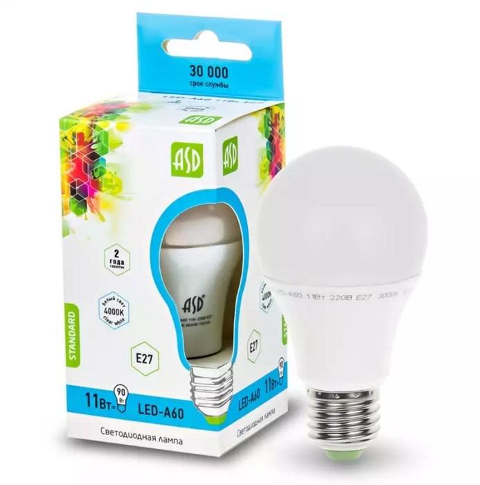 Посмотрим на общий вид лампы ASD 11 ВТ