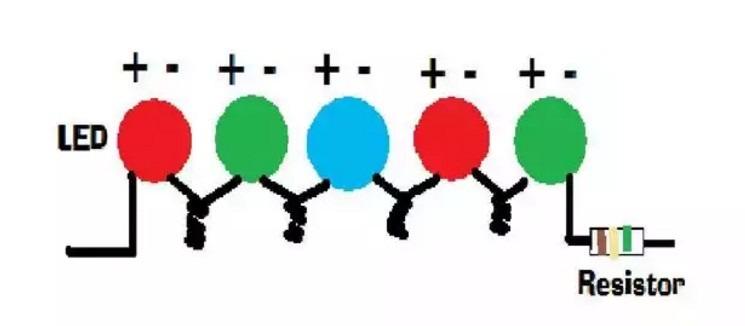 Схема цветомузыки для светодиодов