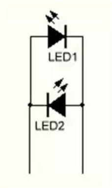 Светодиод двух цветов