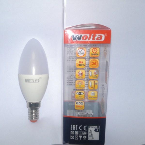 Общий вид лампы WOLTA