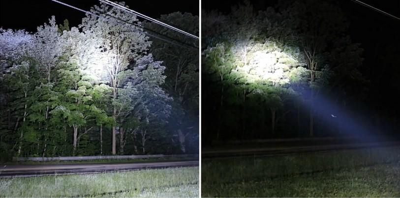 светодиодные люстры для внедорожников Сравнение света ОСРАМ и КРИ