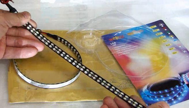 LED лента для поворотников в зеркала