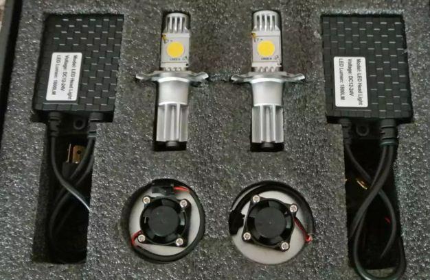 Сравнение LED ламп в авто фары