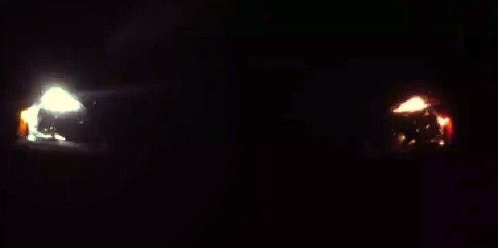 Сравнение MTF 5500 K с лампой накаливания