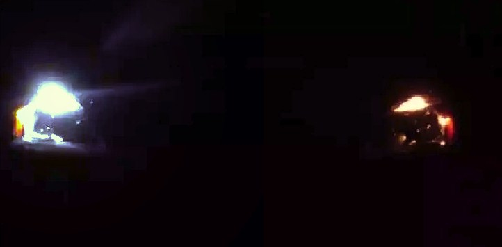 Как светит w5w t10 COB №1