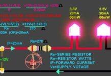 миниатюра подключение светодиодов к 12В