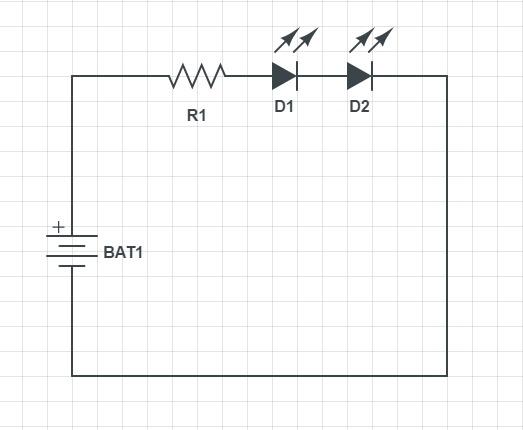 Последовательное соединение светодиодов