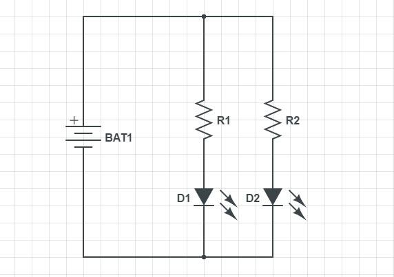 Правильнео парарллельнео соединение светодиодов