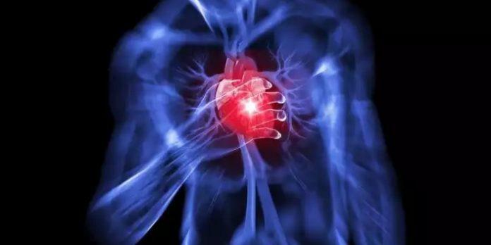 Сердце и красный светодиод