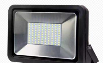 светодиодный прожектор на 12 В своими руками