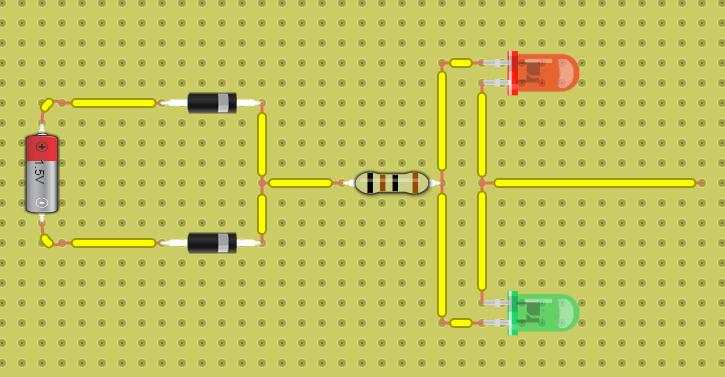 схема контрольки для авто на светодиодах