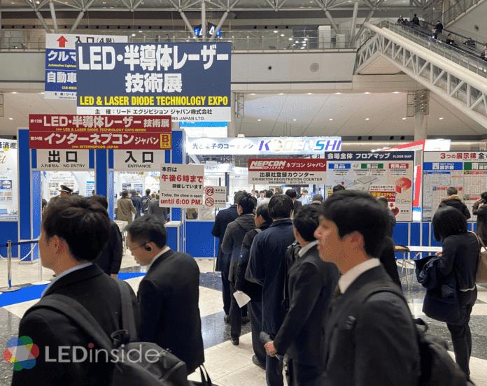 <pre>【NEPCON JAPAN】 Светодиодные дисплеи с интеграцией датчиков открыты для новых применений