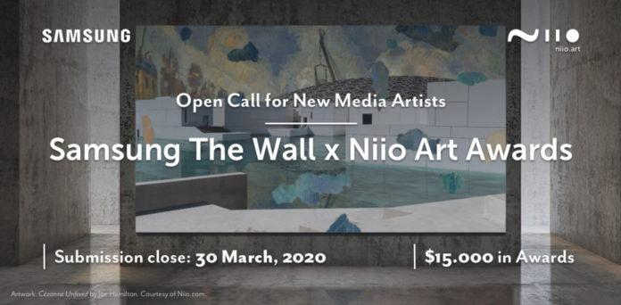 <pre>Samsung является партнером арт-сообщества по продвижению цифрового искусства с помощью светодиодного дисплея Micro