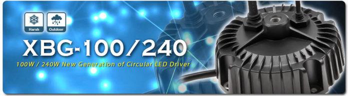 <pre>MEAN WELL представляет новое поколение круговых светодиодных драйверов XBG