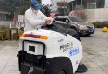 Велодин Лидар будет вести автономную уборку автомобилей в Китае для борьбы с эпидемией коронавируса
