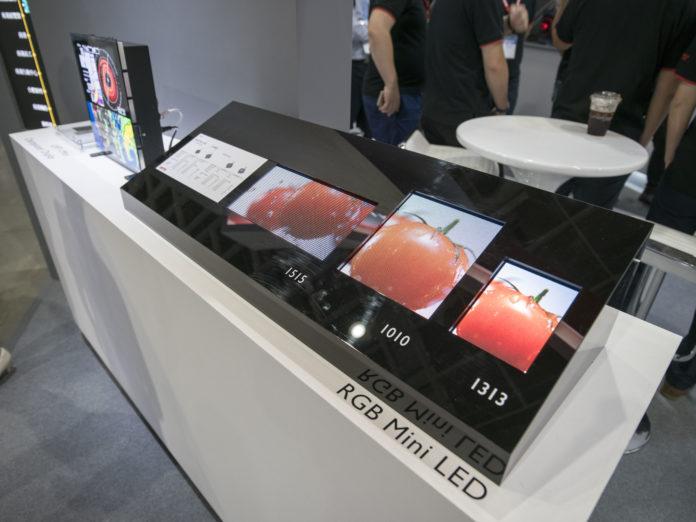 <pre>ЖК-дисплей уходит вниз, производители дисплея переходят на технологию мини-светодиодов