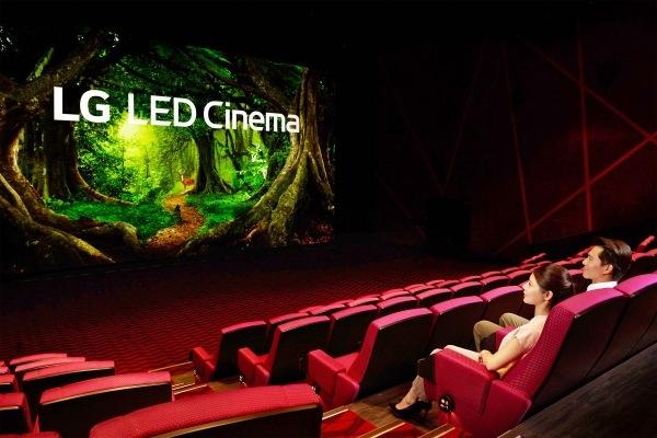 LG запускает свой первый коммерческий светодиодный кинотеатр на Тайване