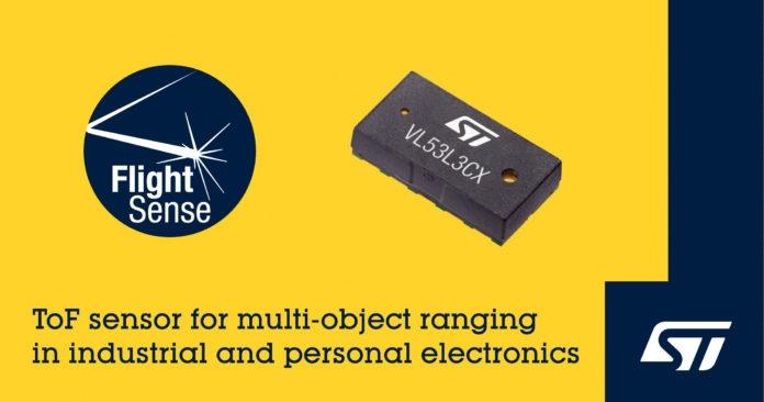 STMicroelectronics выпускает новый датчик ToF и предлагает эталонный дизайн для мониторинга социального расстояния
