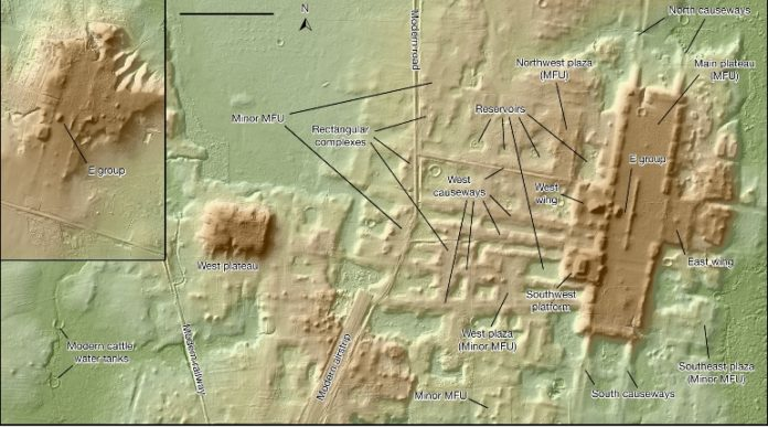 Техническая поддержка LiDAR Обнаружение самой большой и самой старой структуры майя в Мексике