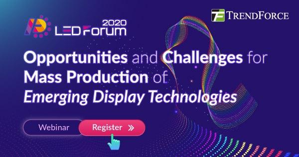 2020 Micro LED Forum - Возможности и проблемы для массового производства новых технологий отображения