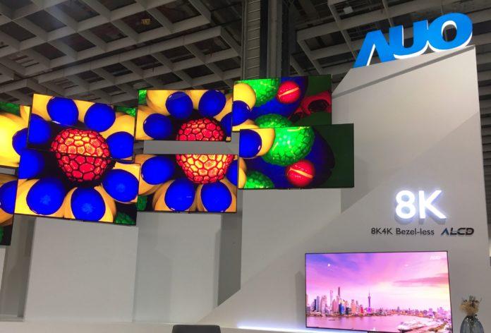 AUO ожидает процветающий рынок панелей во 2П20 и поставляет 8K QLED и мини светодиодный дисплей ведущим брендам