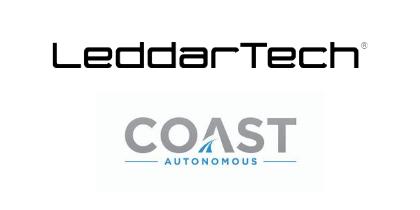 COAST выбирает LDAR от LeddarTech для автономных транспортных средств доставки