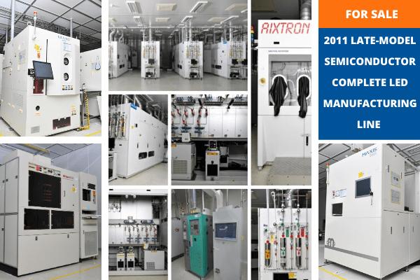 Hilco Industrial продаст полную линию по производству светодиодов в Южной Корее