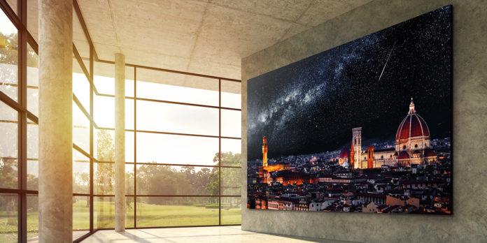 LG добавляет продукт Micro LED TV для коммерческого использования