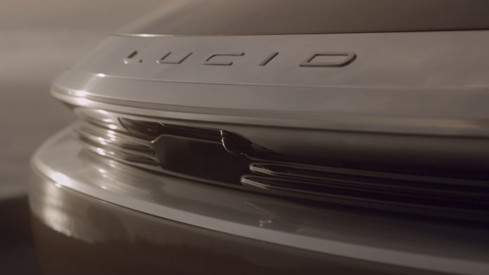 Lucid Motors представляет интегрированный ADAS LiDAR для Lucid Air