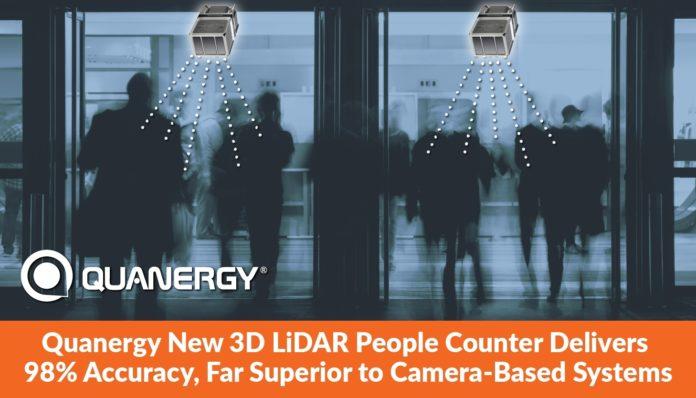 Quanergy показывает, как 3D LiDAR поддерживает интеллектуальное решение для управления персоналом для открытия