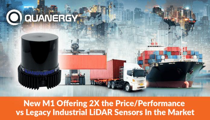 Quanergy представляет новый промышленный двухмерный датчик LiDAR для измерений на средних и больших расстояниях
