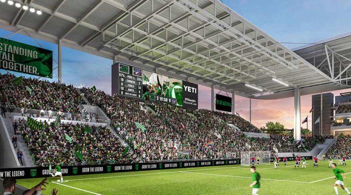 Daktronics устанавливает новую светодиодную систему отображения на новом стадионе в Техасе