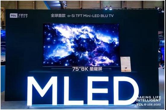 TCL запускает новую линейку мини-телевизоров со светодиодной подсветкой, а Xiaomi представляет прозрачный OLED-телевизор