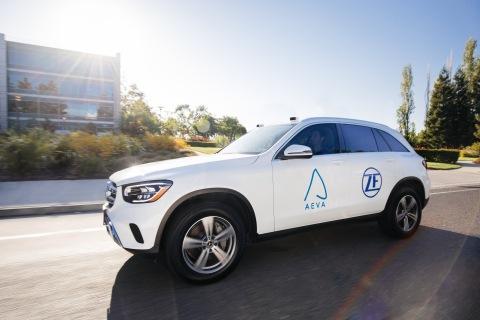 Aeva объявляет о партнерстве с ZF для внедрения FMCW LiDAR в автомобильное производство