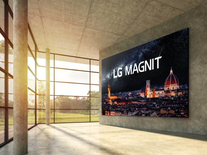 LG официально запускает микро-светодиодный дисплей для коммерческого рынка